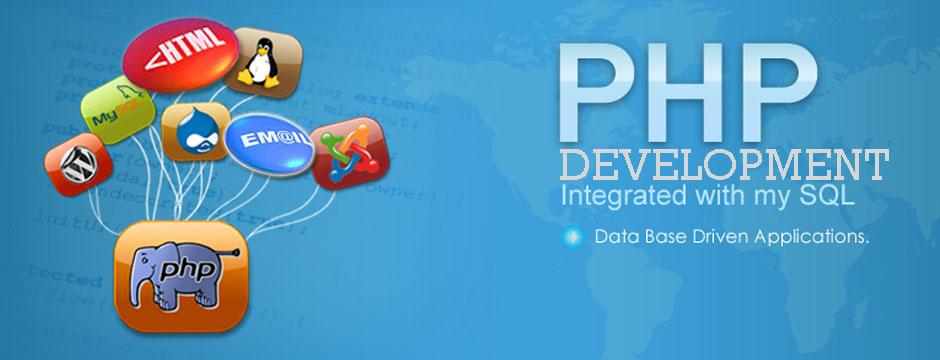 Custom web app, CMS and E-commerce web app developer using php technology