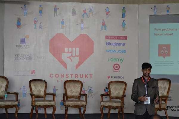 Speaker for Construkt Festival 2014