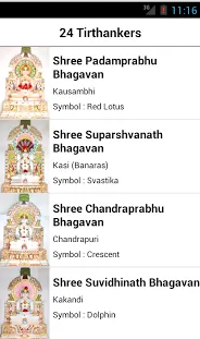 Tirthanker Gods List