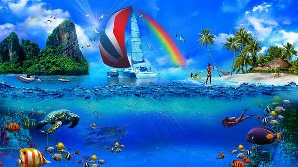 Sailboat Virgin Islands