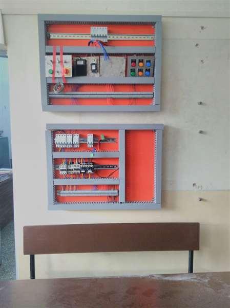 Input output module of plc..