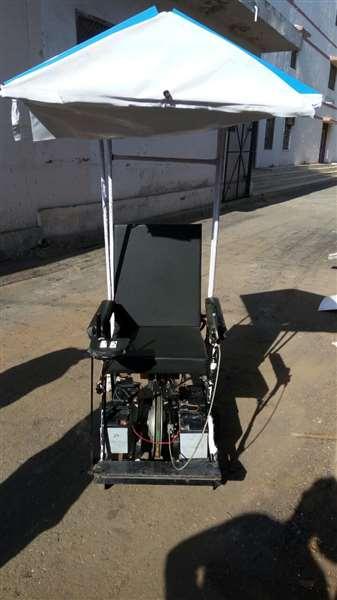 Solar wheelchair