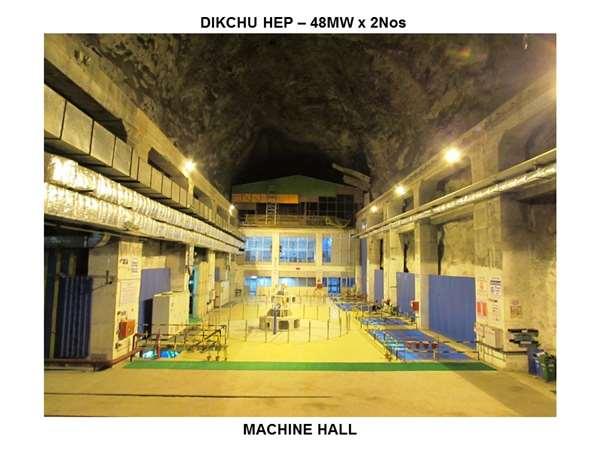 Dikchu HEP 96MW