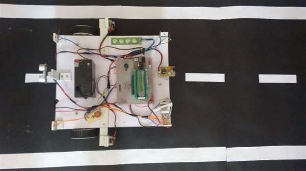 Drives assistant system using Atmega16