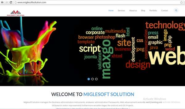 Miglesoft solution website