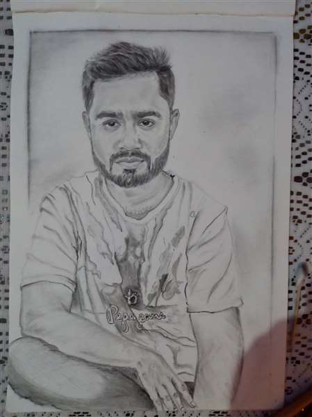 sketch of my brother