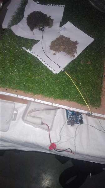 soil sensing module