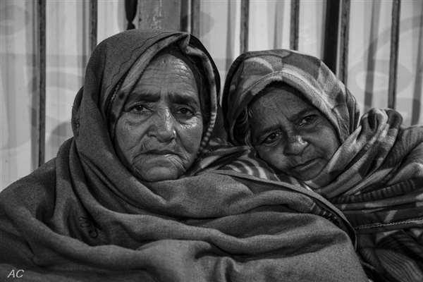 haridwar ghat in winter