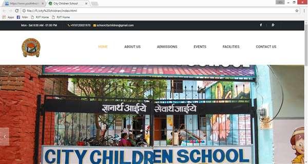 Website (City Children School)