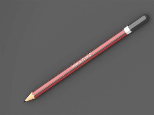 Natraj pencil Rendering