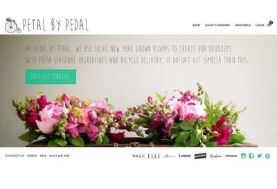 Petal By Pedal E commerce project.