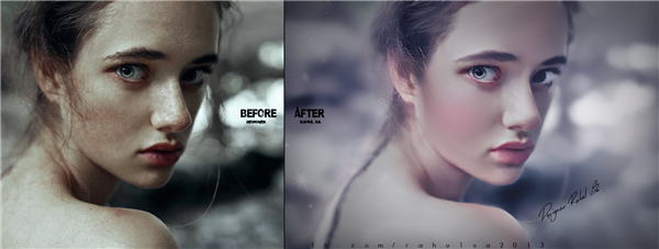 Retouching Work By Me.