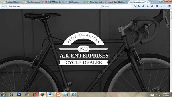 A.K ENTERPRISES CYCLE DEALER