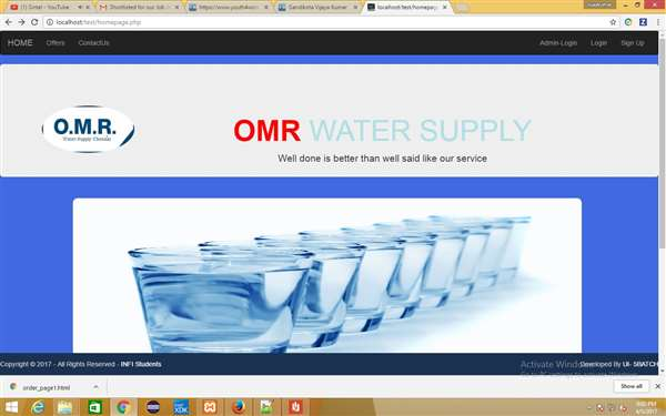 OMR WaterSupply project