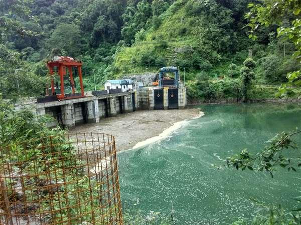 Dam Upstream