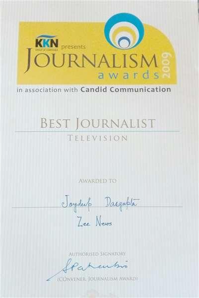 Best TV Journalist