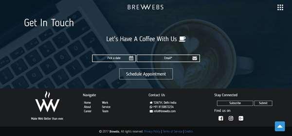 Brewebs Contact Us
