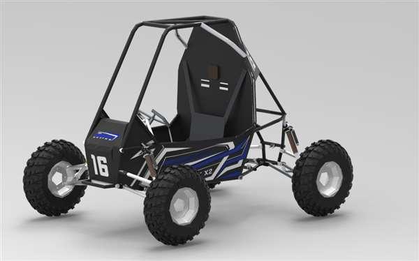 CAD model of ATV