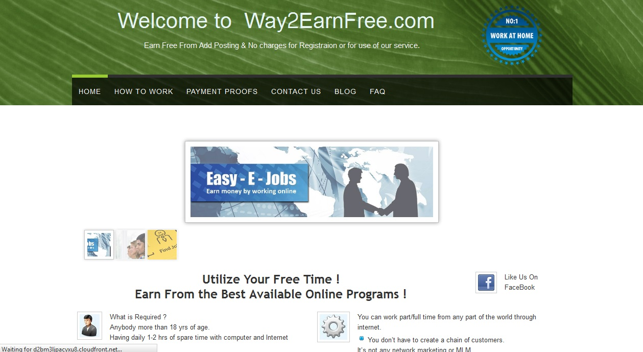 Part Time Work Web Site