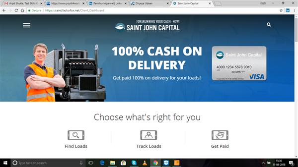 SAINT JOHN CAPITAL   Portal