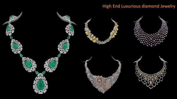 High end Luxurious Jewelry Photography