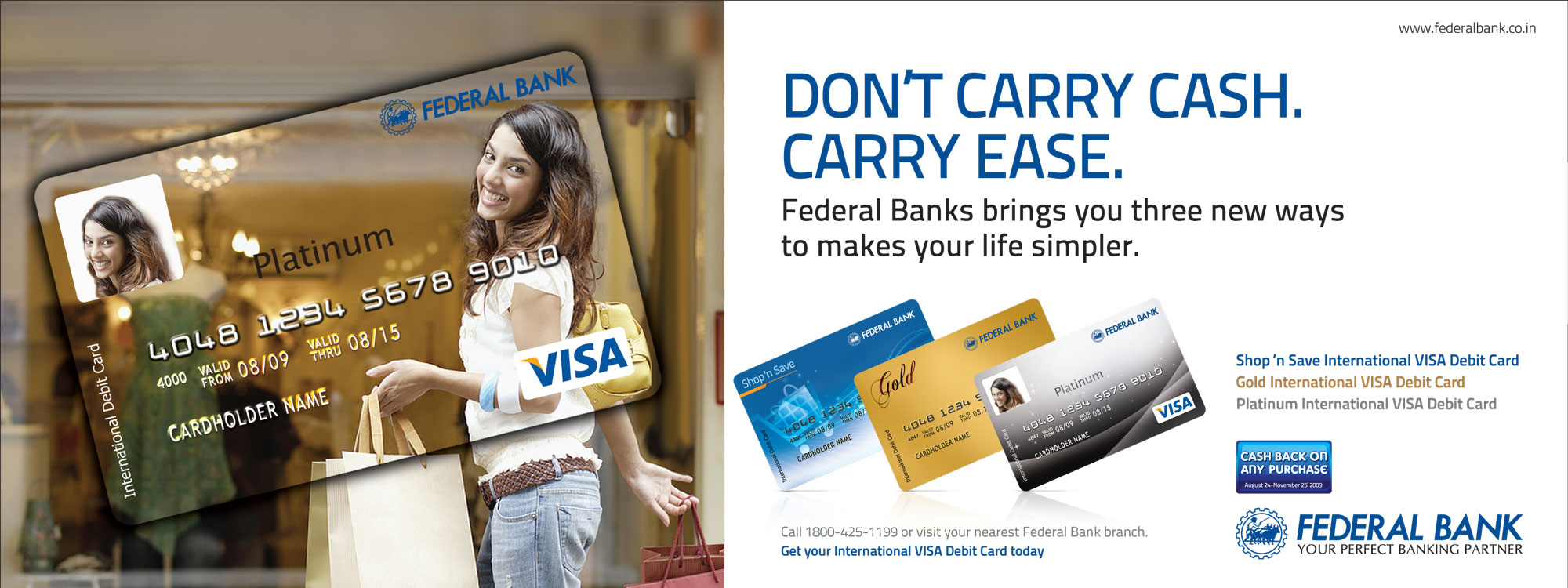 Banner for Federal Bank