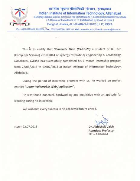 DAMN VULNERABLE WEB APPLICATION (internship at IIIT-A for one month)