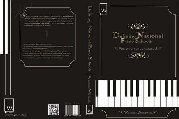 a book cover design for Piano schools
