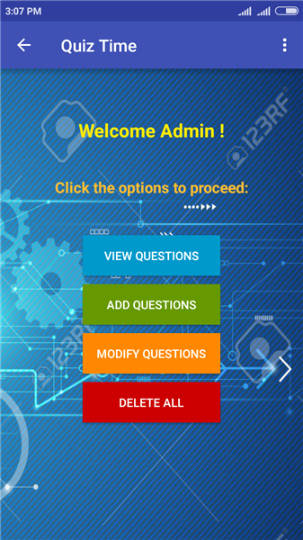 Admin Page