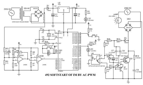 soft starter for single phase induction