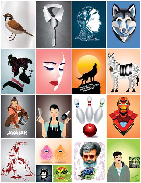 Some of My Illustration Works