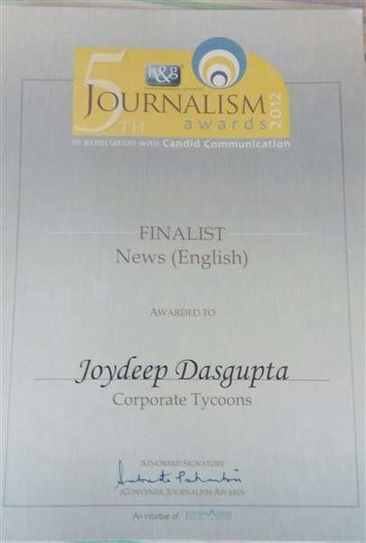 Finalist in News Writing
