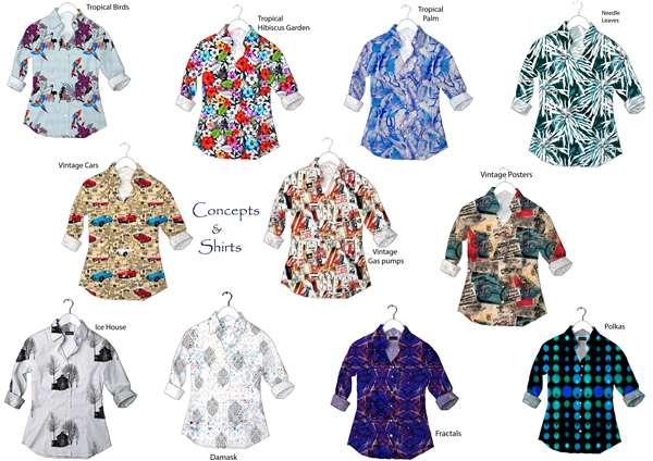 Tropical & Vintage shirts