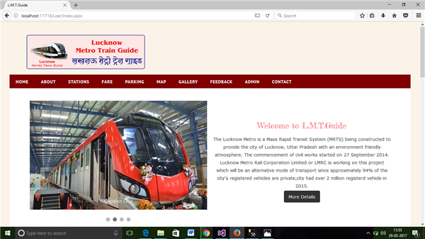 Lucknow Metro Train Guide