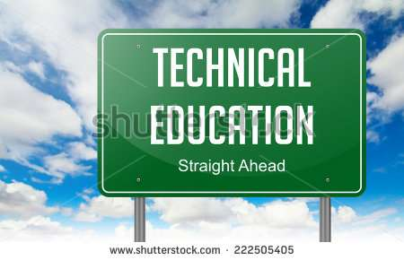 stock-photo-highway-signpost-with-technical-education-wording-on-sky-background-222505405