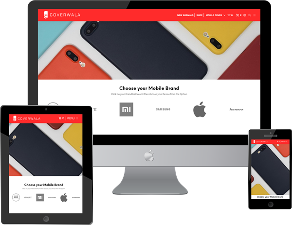 Coverwala.com (eCommerce website online mobile covers & accessories )