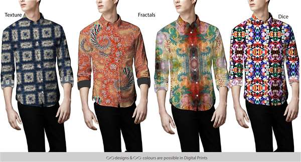 All-over Digital printed Shirts