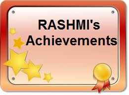 My Achievements as a student