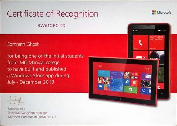 Microsoft windows 8 App fest