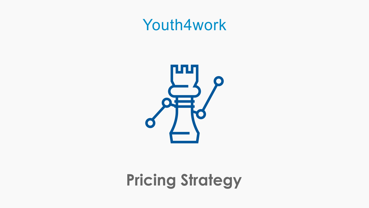 What are four types of pricing strategies? What are the pri