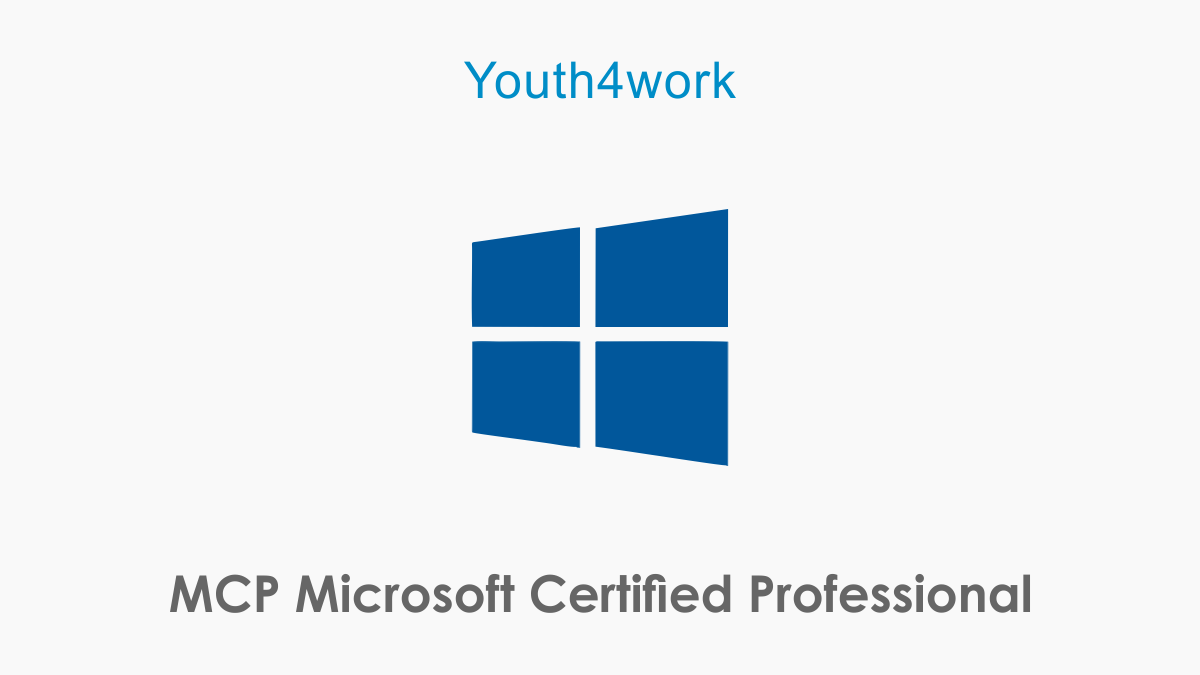MCP Microsoft Certified Professional