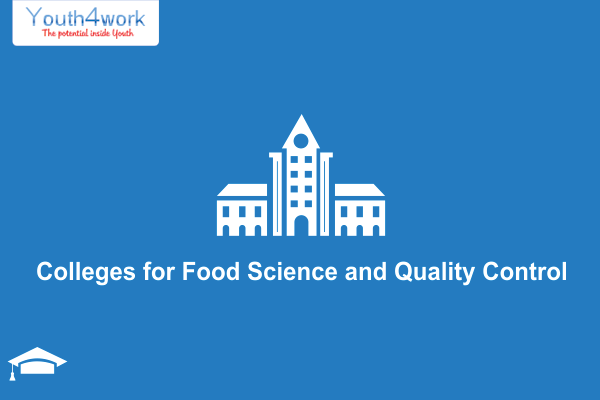 Colleges for Food Science and Quality Control