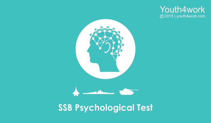 SSB Tips - SSB Psychological Test Blog