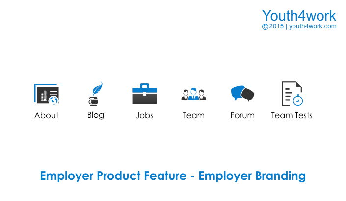 Employer Product Feature - Employer Branding