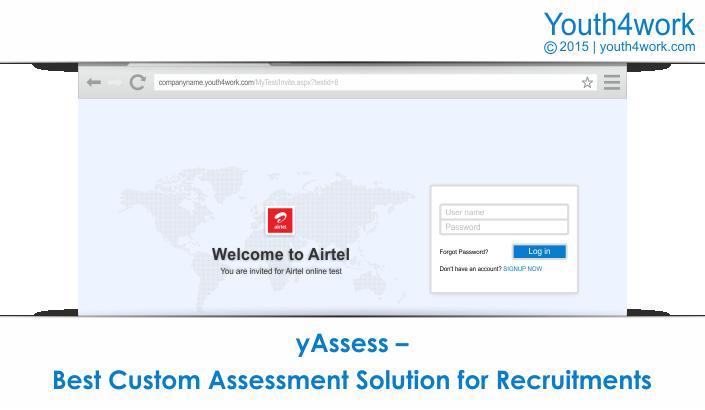 yAssess – Best Custom Assessment Solution for Recruitments