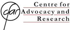 CFAR Centre for Advocacy and Research