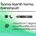 Tanmai Aasrith Varma Ayenampudi