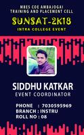 Katkar Siddheshwar Vasudev