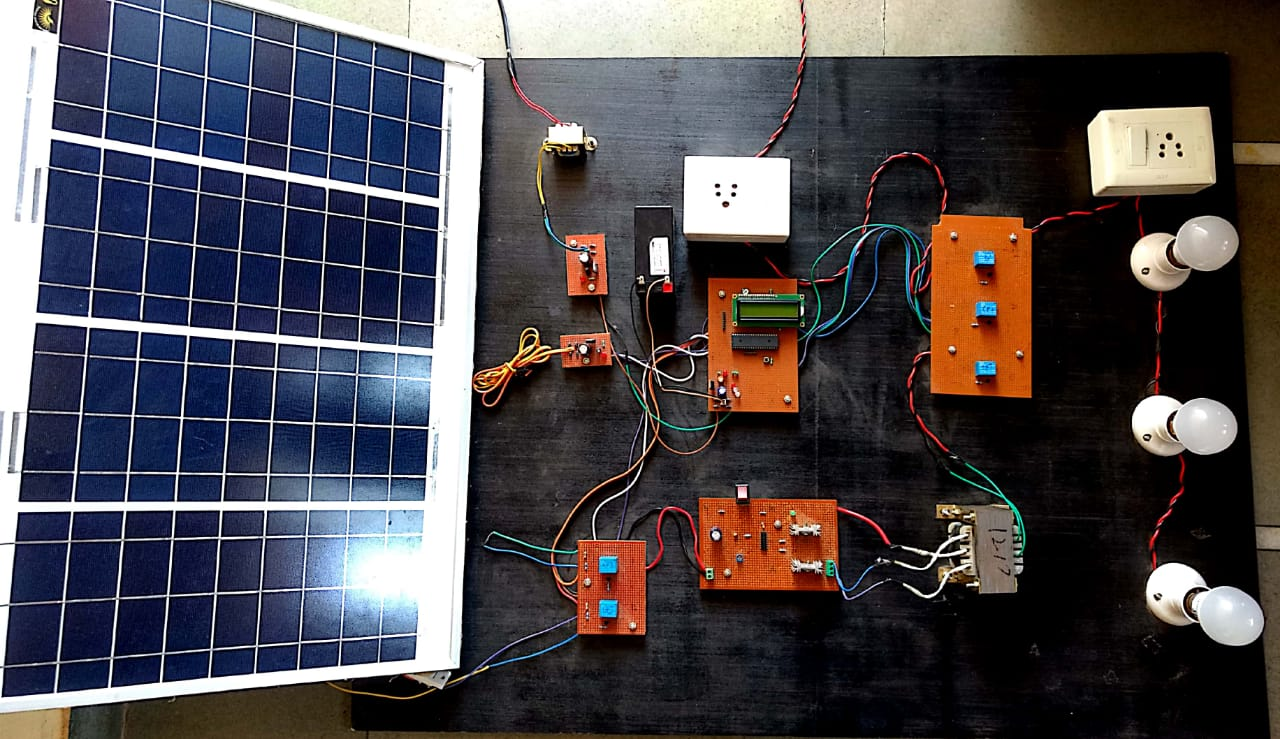 Design and Development of Solar Hybrid System for Home Appliances