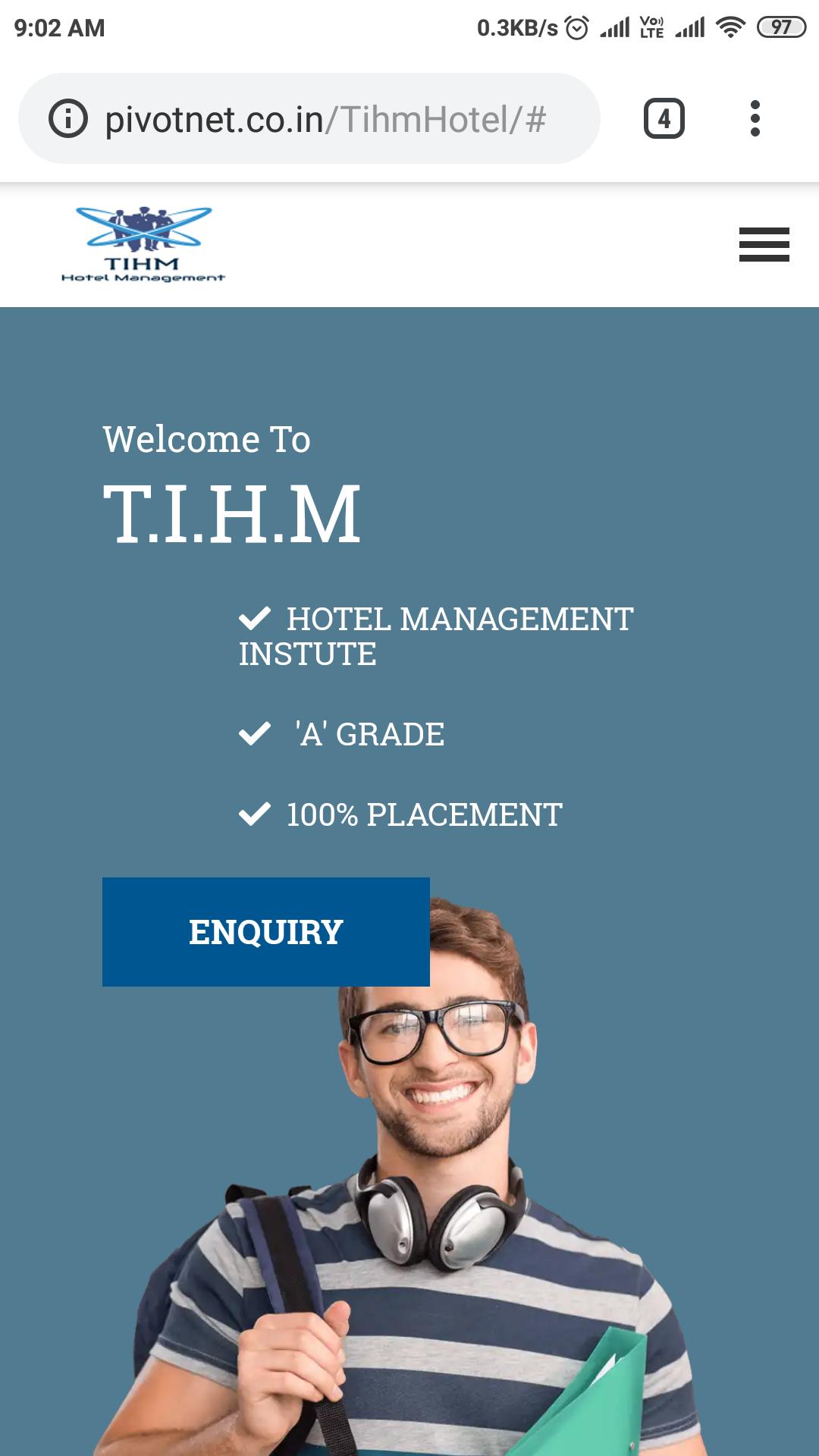 Tihm website